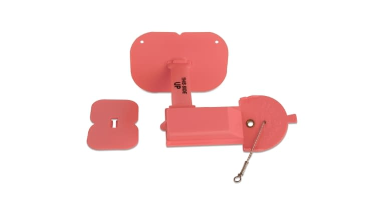 Luhr-Jensen Hot Shot Side Planer Pink