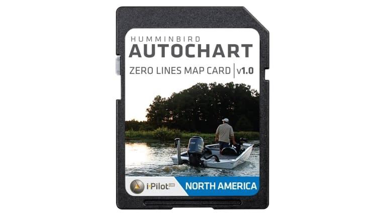 Humminbird AutoChart Zero Line north America