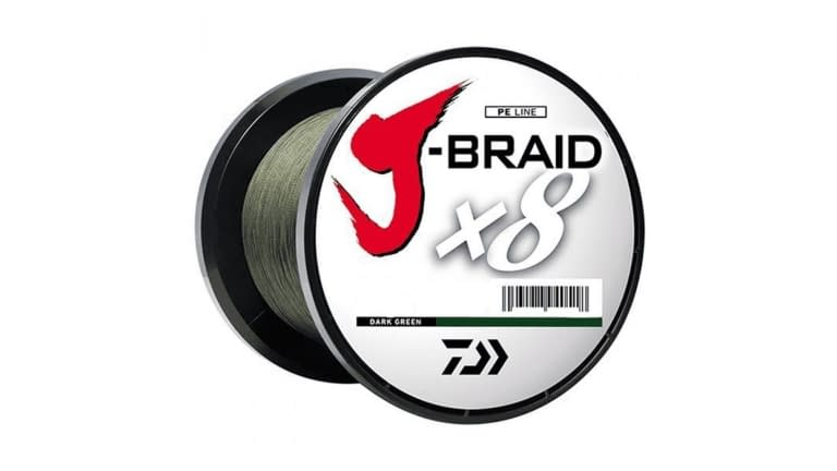 Daiwa J Braid 8 Strand 3300yd Spools - JB8U30-3000DG