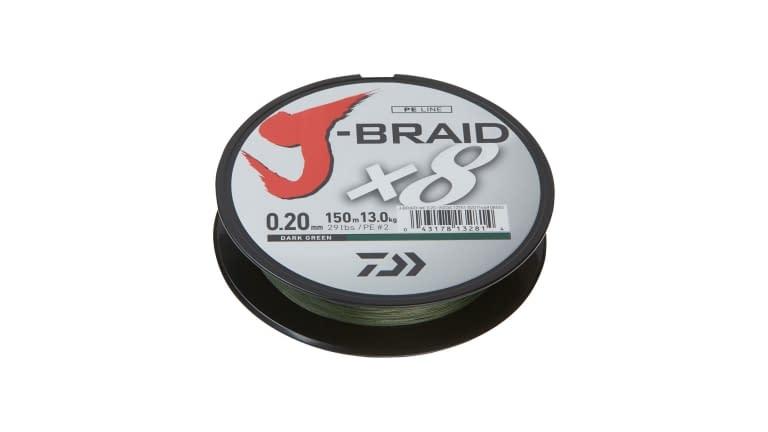 Daiwa J Braid 8 Strand - JB8U30-300DG