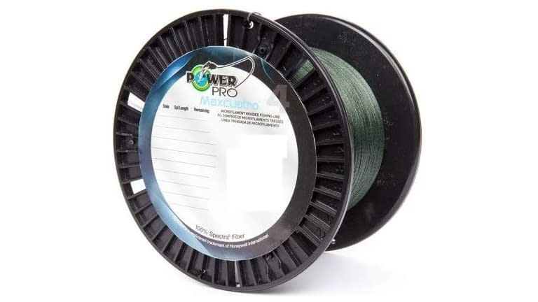 Power Pro Maxcuatro 3000yd Spools