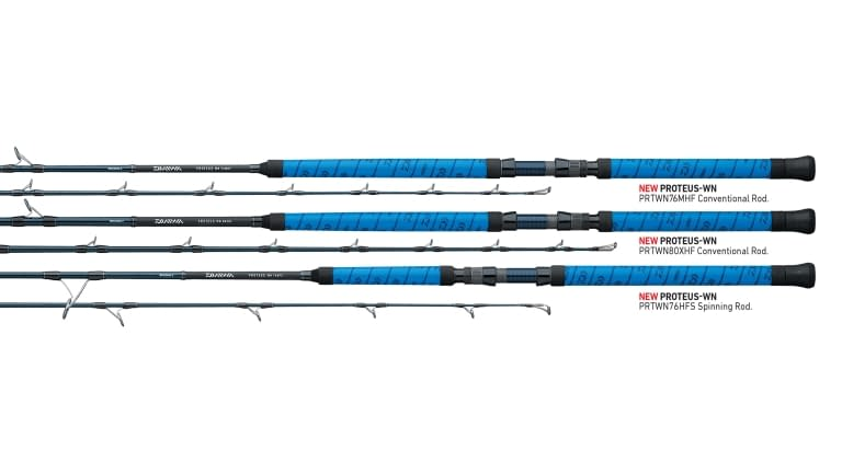 Daiwa Proteus Winn Spinning Rod - 76hfs