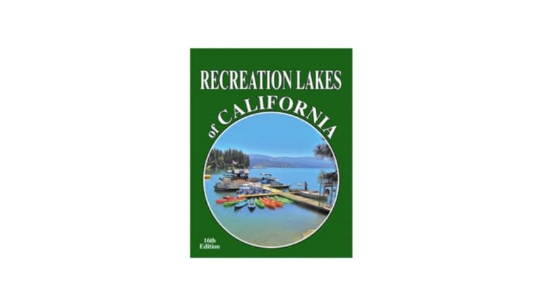 Recreation Lakes of California Map Book
