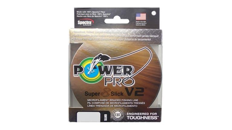 Power Pro Super Slick V2 300yd Spools - 31500300300E