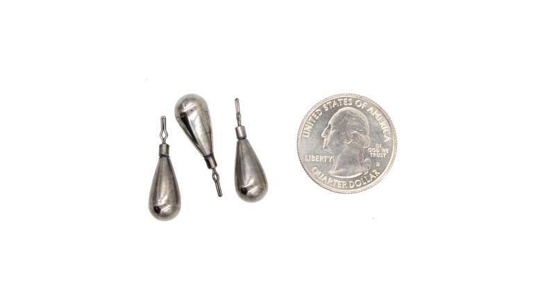 E-Z Weights Tungsten Dropshot Weight - TCF33-DN-5/16-3