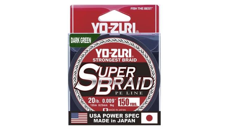 Yo-Zuri Superbraid 150yd - SB20LBDG150