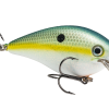 Strike King Magnum Square Bill - Style: Chartreuse Sexy Shad